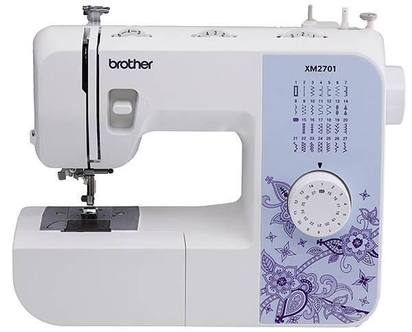 Brother XM2701 Lightweight - best kids sewing machine