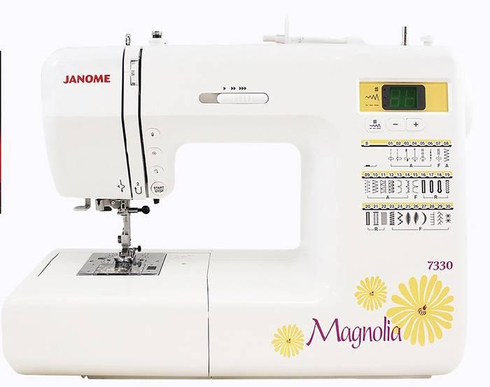 Janome 7330 Magnolia computerized sewing machine