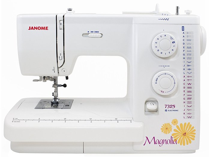 Janome Magnolia 7325 best sewing machine for beginner